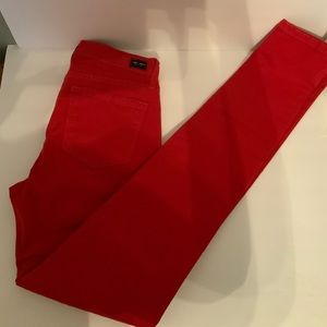 Angry Rabbit Ruby Red Skinny Jeans